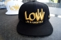 Preview: Snapback Cap Caps Low is a Lifestyle LIAL schwarz-gold